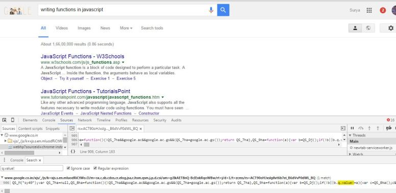 how-to-find-javascript-function-definition-in-chrome